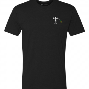 Front of Other Side Black Beard Tee