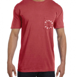 A simple, reliable pocket tee, featuring an awesome distressed look on the back - Other Side Military Apparel